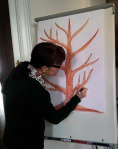 Pintant arbre planificador